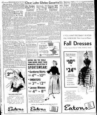 Globe-Gazette from Mason City, Iowa on September 22, 1949 · Page 19