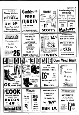 The Ottawa Herald from Ottawa, Kansas on November 20, 1961 · Page 5