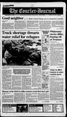 The Courier-Journal from Louisville, Kentucky on July 28, 1994 · Page 1