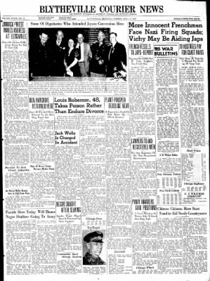 The Courier News from Blytheville, Arkansas on April 21, 1942 · Page 1