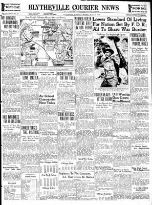 The Courier News from Blytheville, Arkansas on April 27, 1942 · Page 1