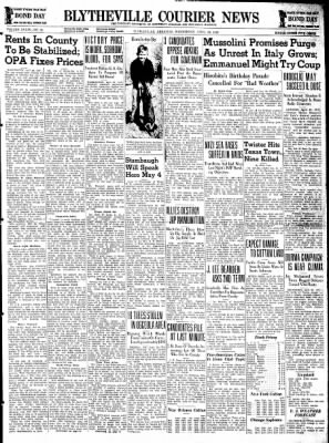 The Courier News from Blytheville, Arkansas on April 29, 1942 · Page 1