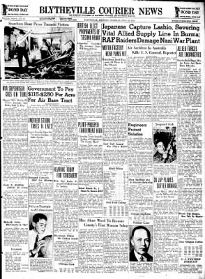 The Courier News from Blytheville, Arkansas on April 30, 1942 · Page 1