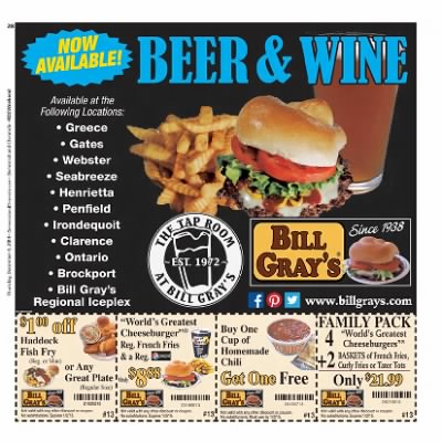bill grays buy one get one free coupons