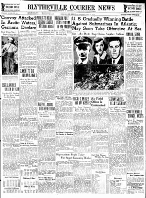 The Courier News from Blytheville, Arkansas on May 4, 1942 · Page 1