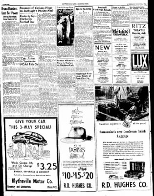 The Courier News from Blytheville, Arkansas on March 24, 1949 · Page 8