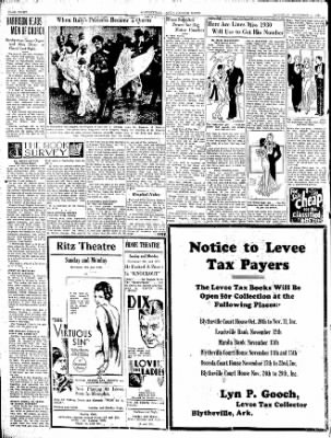 The Courier News from Blytheville, Arkansas on November 8, 1930 · Page 8