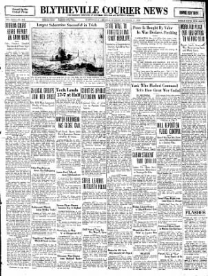 The Courier News from Blytheville, Arkansas on November 11, 1930 · Page 1