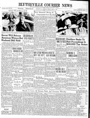 The Courier News from Blytheville, Arkansas on June 9, 1939 · Page 1