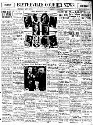 The Courier News from Blytheville, Arkansas on November 12, 1930 · Page 1