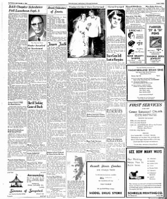 The Independent-Record from Helena, Montana on September 4, 1954 · Page 4