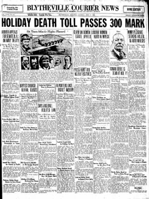 The Courier News from Blytheville, Arkansas on July 7, 1930 · Page 1
