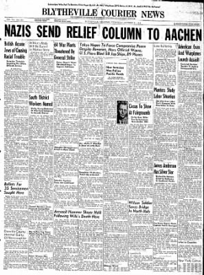 The Courier News from Blytheville, Arkansas on October 11, 1944 · Page 1