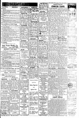The Gilmer Mirror From Gilmer Texas On June 10 1965 Page 13