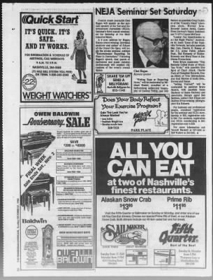The Tennessean from Nashville, Tennessee on October 27, 1985 · Page 220