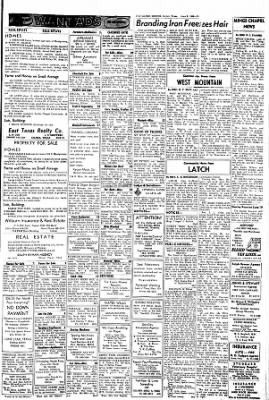 The Gilmer Mirror from Gilmer, Texas on June 9, 1966 · Page 15