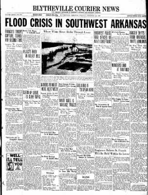 The Courier News from Blytheville, Arkansas on February 22, 1938 · Page 1