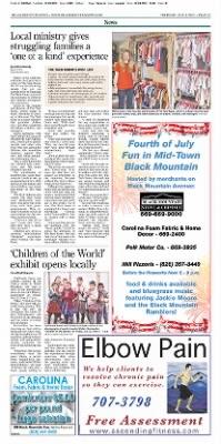 Asheville Citizen-Times from Asheville, North Carolina on July 4, 2013 · Page A3
