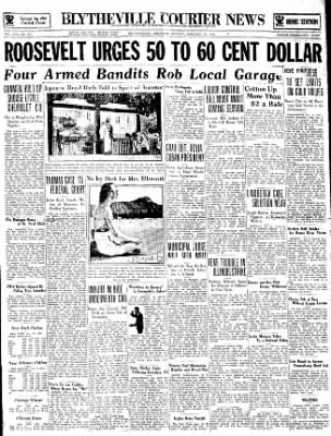 The Courier News from Blytheville, Arkansas on January 15, 1934 · Page 1