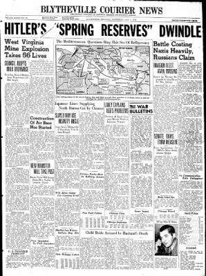The Courier News from Blytheville, Arkansas on May 13, 1942 · Page 1
