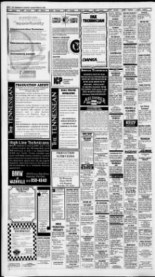 The Tennessean From Nashville Tennessee On April 24 2003 Page 3