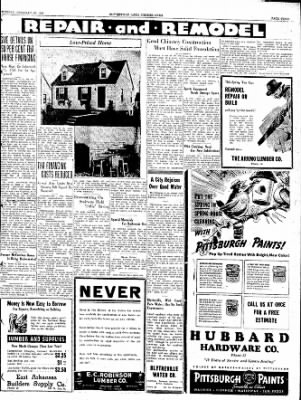 The Courier News from Blytheville, Arkansas on February 22, 1938 · Page 3