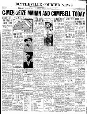 The Courier News from Blytheville, Arkansas on May 7, 1936 · Page 1