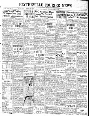 The Courier News from Blytheville, Arkansas on June 14, 1939 · Page 1