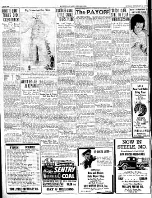 The Courier News from Blytheville, Arkansas on February 22, 1938 · Page 8