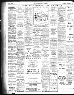 Poughkeepsie Journal From Poughkeepsie New York On October 5 1946