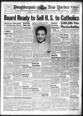 Poughkeepsie Journal from Poughkeepsie, New York on January 14, 1956 · Page 1