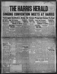 Sample The Harris Herald front page