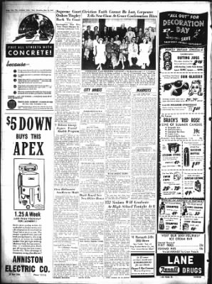 The Anniston Star From Anniston Alabama On May 26 1949 Page 2