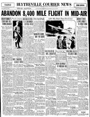 The Courier News from Blytheville, Arkansas on July 16, 1930 · Page 1
