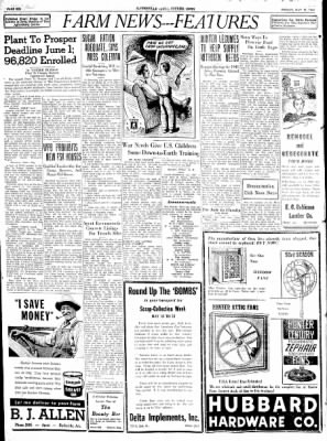 The Courier News from Blytheville, Arkansas on May 15, 1942 · Page 6