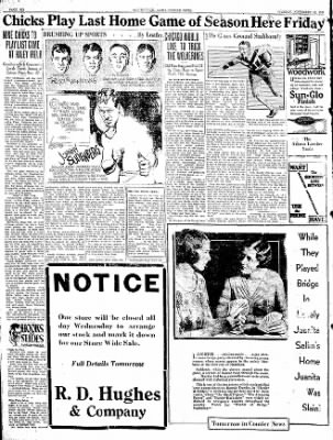 The Courier News from Blytheville, Arkansas on November 18, 1930 · Page 8