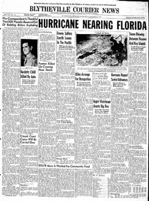 The Courier News from Blytheville, Arkansas on October 18, 1944 · Page 1