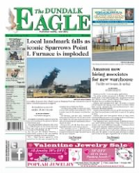 Sample The Dundalk Eagle front page