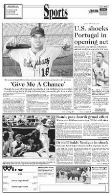 The Star-Democrat from Easton, Maryland on June 6, 2002