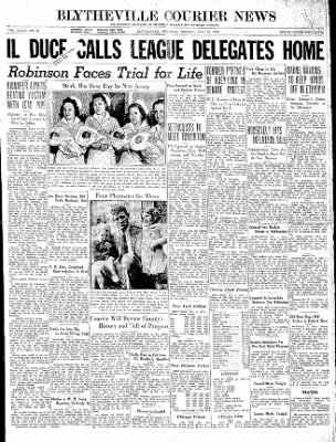 The Courier News from Blytheville, Arkansas on May 12, 1936 · Page 1