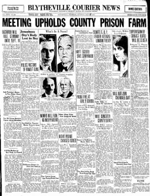 The Courier News from Blytheville, Arkansas on July 18, 1930 · Page 1