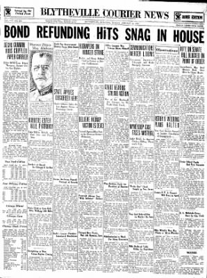 The Courier News from Blytheville, Arkansas on January 22, 1934 · Page 1