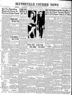The Courier News from Blytheville, Arkansas on June 20, 1939 · Page 1