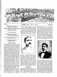 Sample The Railroad Telegrapher front page