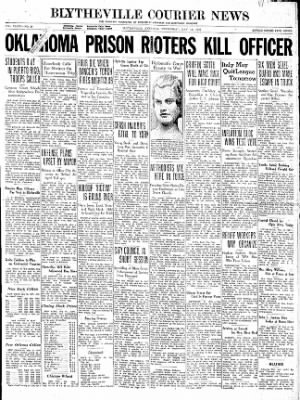 The Courier News from Blytheville, Arkansas on May 13, 1936 · Page 1