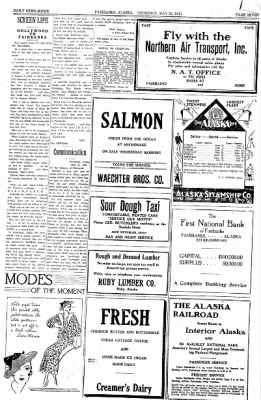 Fairbanks Daily News-Miner from Fairbanks, Alaska on May 25, 1933 · Page 7