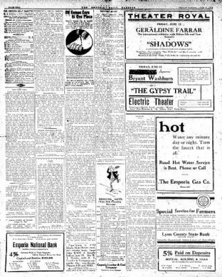 The Emporia Gazette From Emporia Kansas On June 13 1919 Page 1