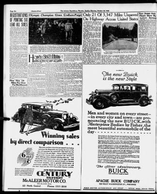 Arizona Republic From Phoenix Arizona On October 28 1928 Page 38