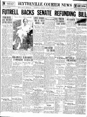 The Courier News from Blytheville, Arkansas on January 23, 1934 · Page 1