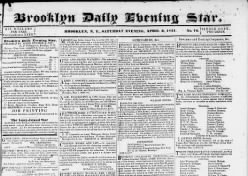 Brooklyn Daily Evening Star
